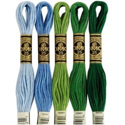 DMC Mouliné Stranded Cotton  - Solid Colors - Art. 117