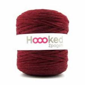 Hoooked Zpagetti - Macro Hilo para Crochet - Bordeaux