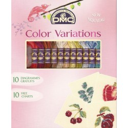 DMC - Confeccion de Madejas Color Variation con Esquemas Gratuitos