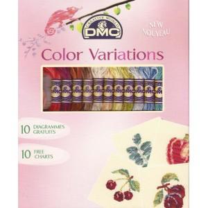 DMC - Confezione Matassine Color Variations con Schemi Gratuiti