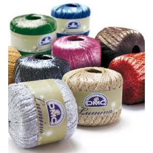 DMC - Lumina Hilo Metálico para Crochet y Labores de Malla