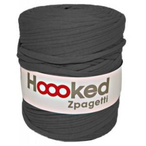 Hoooked Zpagetti - Macro Hilo para Crochet - Griz Oscuro