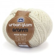DMC Wool - Urban Glam Graffiti - White
