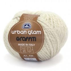 DMC Lana - Urban Glam Graffiti - Bianco