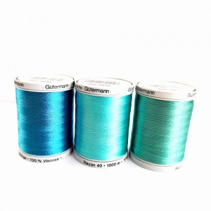 Gutermann - Machine Embroidery Threads 1000 meters