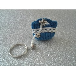Keychain Sound Tinkle and Colors of Sicily - Blue