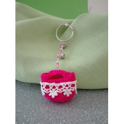 Keychain Sound Tinkle and Colors of Sicily - Fuxia