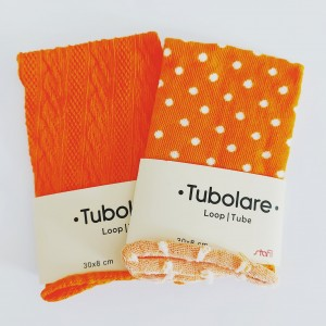 Tela Tubolar - Color Naranja