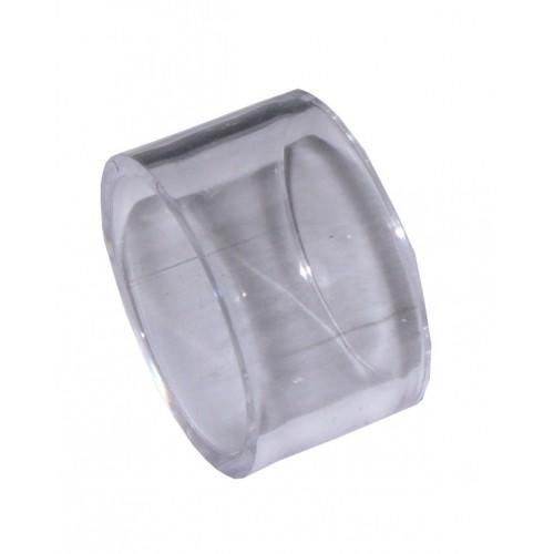Anello Portatovagliolo in Plastica Trasparente - Diametro 5,3 cm
