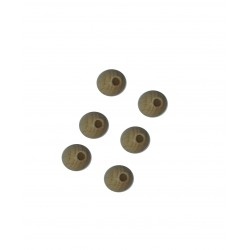 Wood Bead with Hole - Diameter 10 mm