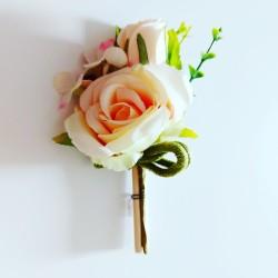 Flowers - Sprig of Roses