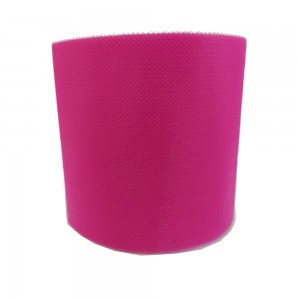 Fuxia Tulle Ribbon - Width 10 cm