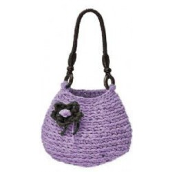 DMC - Kit Crochet - Hoooked Bag Rimini - Violet