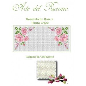 Doily Embroidery Kits - Roses Cross Stitch Collection