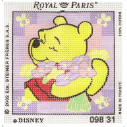 Royal Paris - Kit Punto Croce Winnie The Pooh