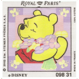 Royal Paris - Kit Punto de Cruz - Winnie The Pooh