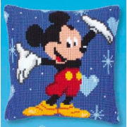 Vervaco -Kit Disney Mickey Mouse - Cross Stitch Cushion