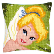 Vervaco -Disney Trilli Fairy - Cross Stitch Cushion