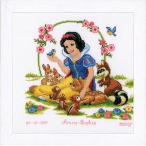 Vervaco - Kit Disney Blancanieves y los Amigos