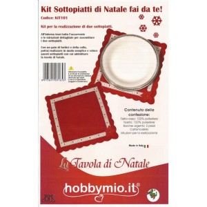 Felt Christmas Table Mats Kit