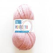 Ovillos de Lana Perfetto - Color Rosa Antiguo