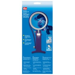 Prym - Universal Magnifying Glass with Lamp Led for Needleworkers