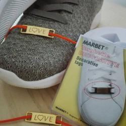 Marbet - Targhette Decorative Oro - Love