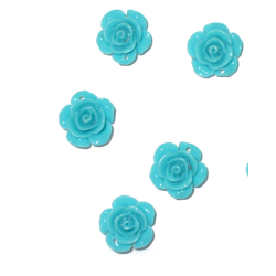 Turquoise Rose - Size 1cm