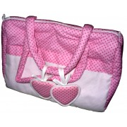 Ready to Stitch Embroidery Bag - Pink Heart