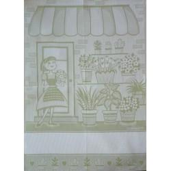 Strofinaccio Cucina La Fioraia - Verde Chiaro