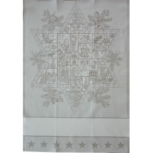 Christmas Kitchen Towel - Advent Star