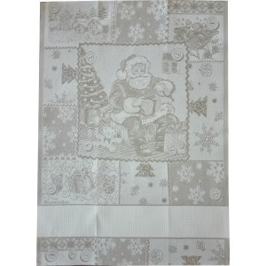 Christmas Kitchen Towel - Santa Claus