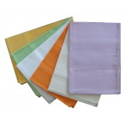 Colored Honeycomb Kitchen Towel with Aida Band