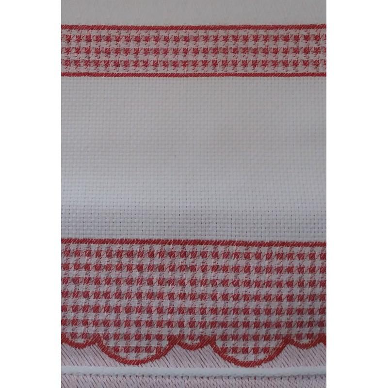 Asciugapiatti cucina con bordo quadretti - Quadretti per cucina ...