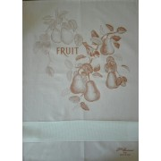 Fratelli Graziano - Pear Kitchen Towel - Mustard Color