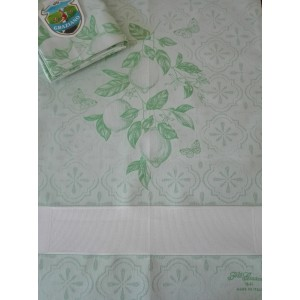 Fratelli Graziano - Citron Kitchen Towel - Green Color