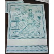 Fratelli Graziano - Appetit Kitchen Towel - Sugar Paper Blue Color