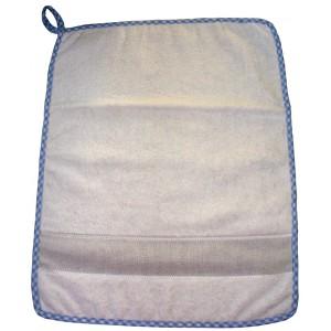 Asciugamano Spugna Ricamabile Pulcino - Celeste