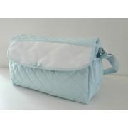 Bolsa de Pañales para Bebé - Color Azul