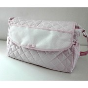 Baby Nursery Bag to Cross Stitch - Pink