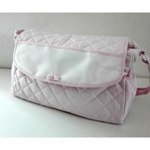 Baby Nursery Bag to Cross Stitch - Pink