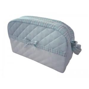 Bolsa de Pañales para Bebé - Color Azul - Fantasía Escocesa