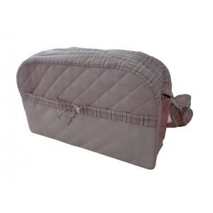 Bolsa de Pañales para Bebé - Color Rosa - Fantasía Escocesa