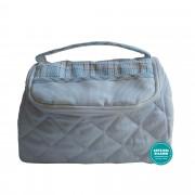Beauty Case Ready to Stitch - Scottish Line - Light Blue Color