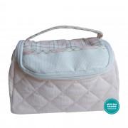 Beauty Case Ready to Stitch - Scottish Line - Pink Color