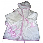 Baby Bathrobe Ready to Stitch - Pink