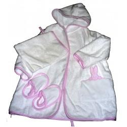 Baby Bathrobe Ready to Stitch - Pink