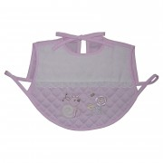 Baby Bib Smock for Eating - Pink