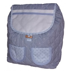 Ready to Stitch Kindergarten Bag - Jeans Effect Light Blue