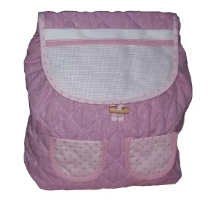 Ready to Stitch Kindergarten Bag - Jeans Effect Pink